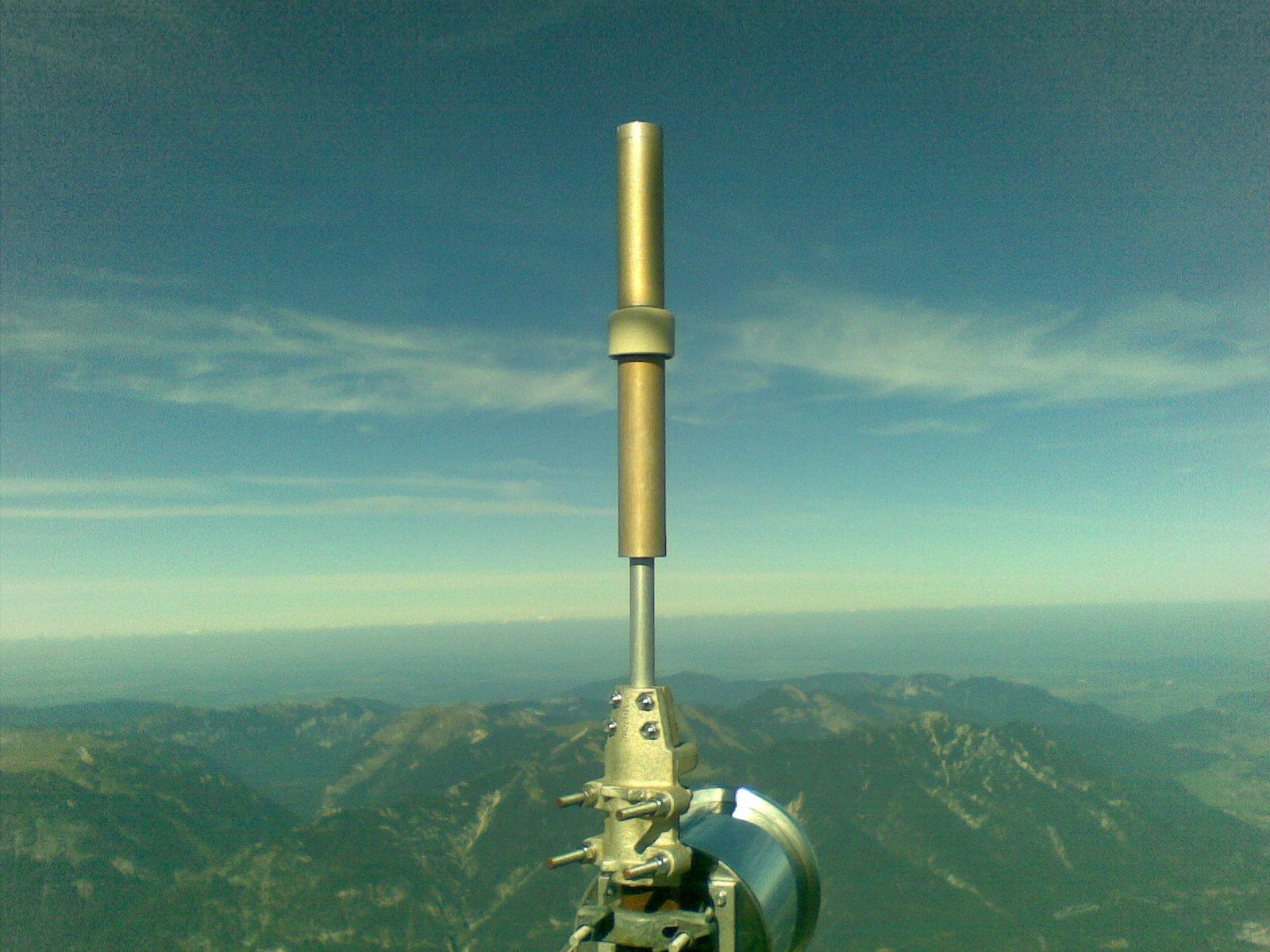 Super Funkposition am Gipfel