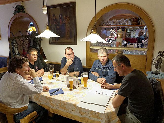 Treffen Umzug Rittnerhorn