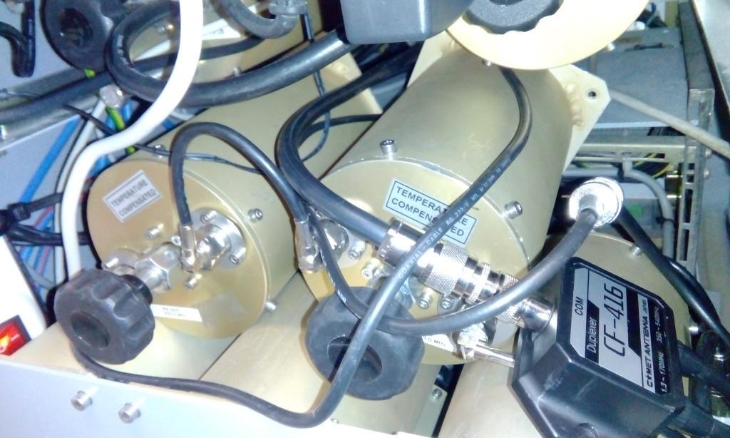 Die beiden von Bandpass auf Notch umgebauten Filter