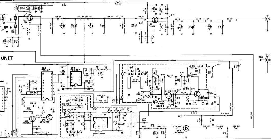 Schaltplan RX RP-1520