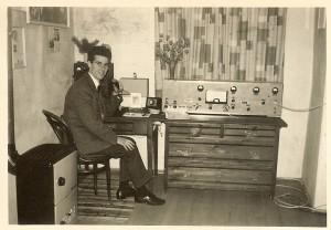 Siegfried, IN3DEG mit seiner homebrew-Station